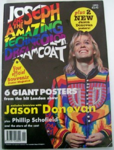 Joseph & Dreamcoat program